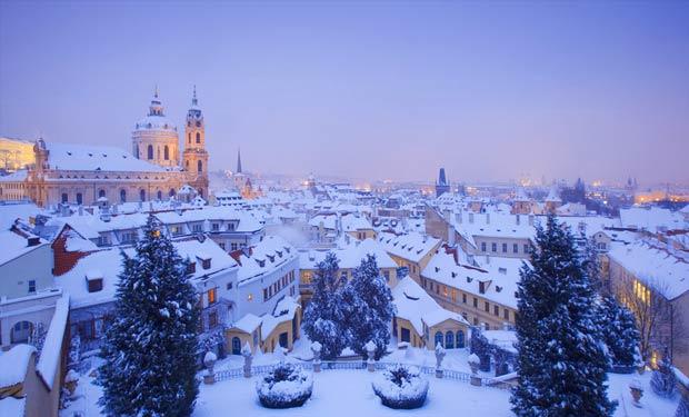 Saint Sylvestre à Prague en Hôtel 4*
