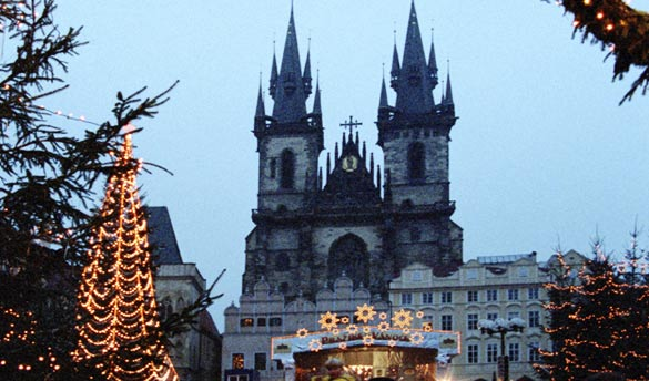 Saint Sylvestre à Prague 4*