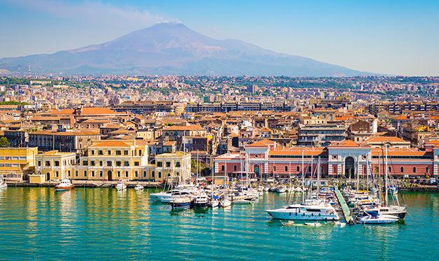 Autotour italie et sicile des volcans 3*