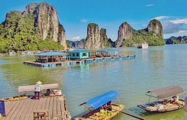 Circuit de la baie d'halong aux temples d'angkor 3/4* - 12 nuits