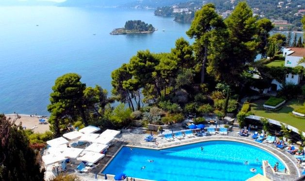 Hôtel corfu holiday palace 5*