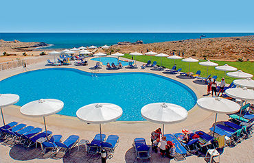 Hôtel aktea beach village 4*