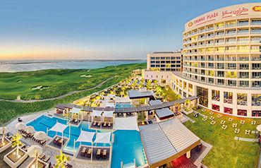 Hôtel crowne plaza abu dhabi yas island 4*