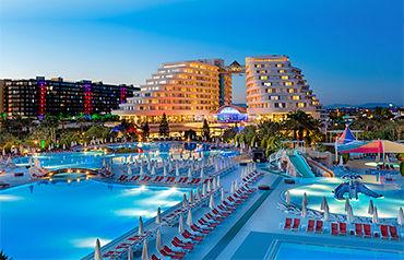 Hôtel miracle resort 5*