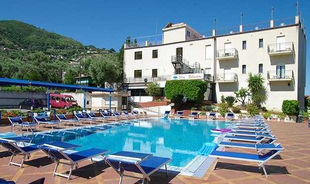 Hôtel villa belvedère 3* avec location de voiture