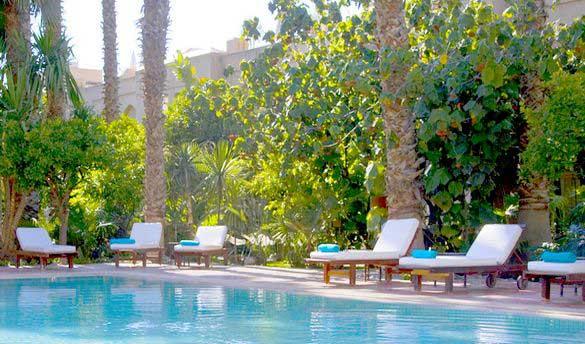Hôtel Riad Les Jardins de la Médina 5*