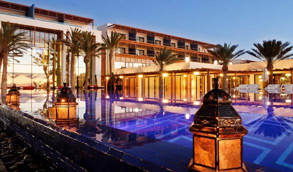 hôtel de luxe maroc