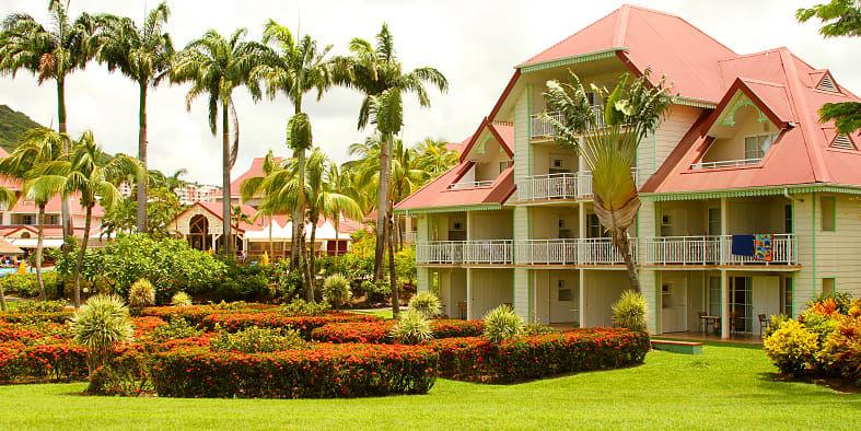 Résidence pierre et vacances premium les Îlets avec location de voiture