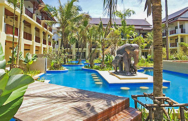 Hôtel Apsara Beachfront Resort et Villas 4*