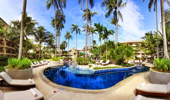 Hôtel Novotel Phuket Surin Beach Resort (ex Double Tree by Hilton) 4*