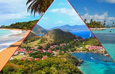 Combiné Guadeloupe Intégrale en Toute Liberté 3*/4*