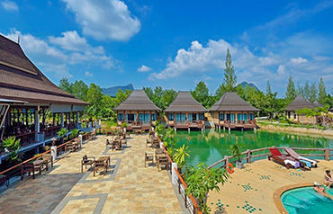 Hôtel poonsiri resort river hill krabi 4*
