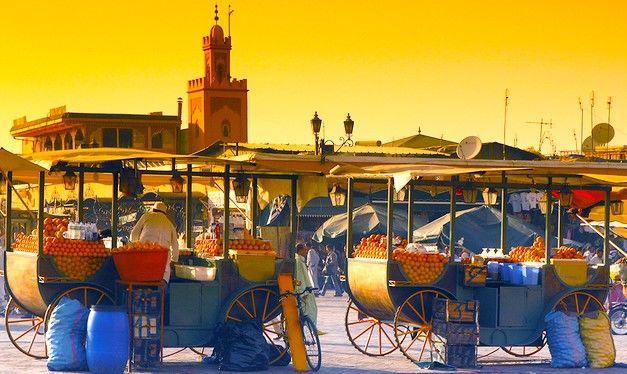 Séjour à marrakech 4* et nuit dans le désert d'agafay