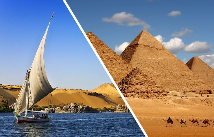 Croisière Grandeur des Pharaons 5* avec visites et Le Caire