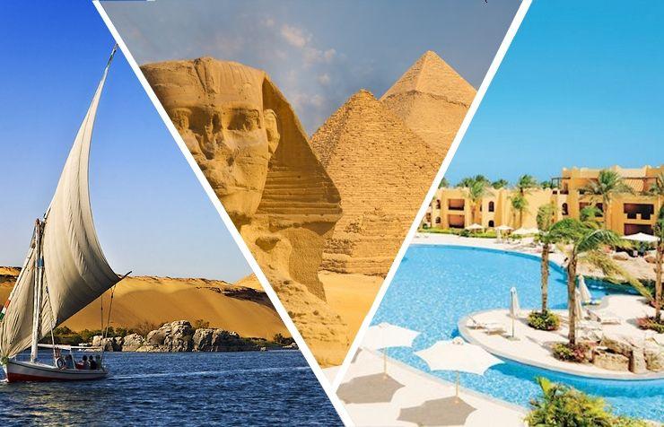 Croisière 5*, Le Caire et séjour Hôtel Stella Di Mare 5*