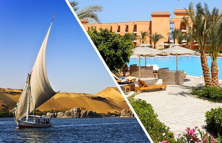 Combiné Déesses du Nil & Sunny Beach 4 *