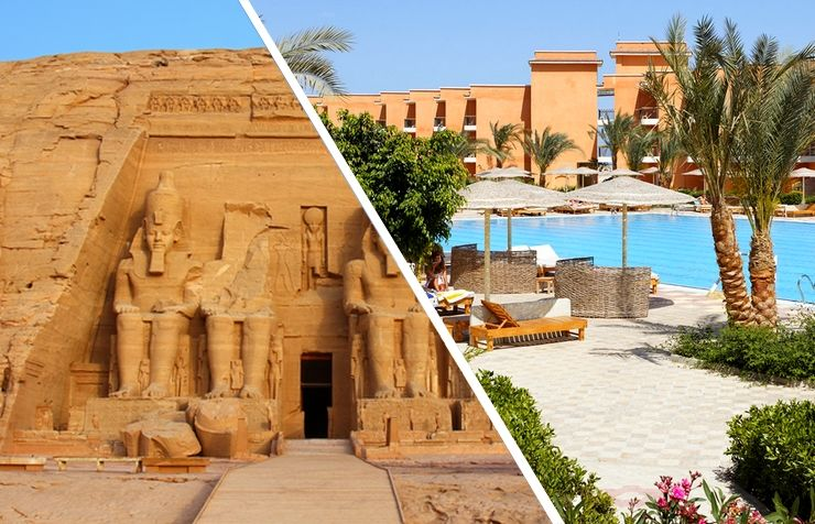 Fabuleuse Egypte & Hôtel Sunny Beach 4*