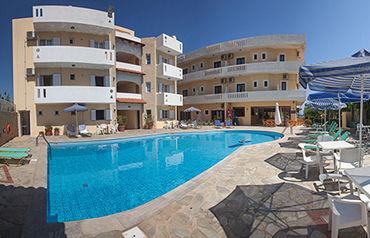 Dimitra hotel & apartments 3* avec location de voiture